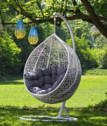 Fotel Wiszący Ogrodowy Cocoon